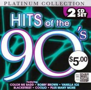 Hits of the 90's front cover